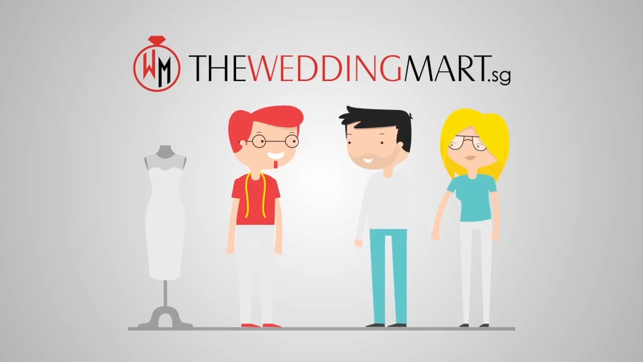 Wedding Mart _ Cartoonic 2D Explainer Video